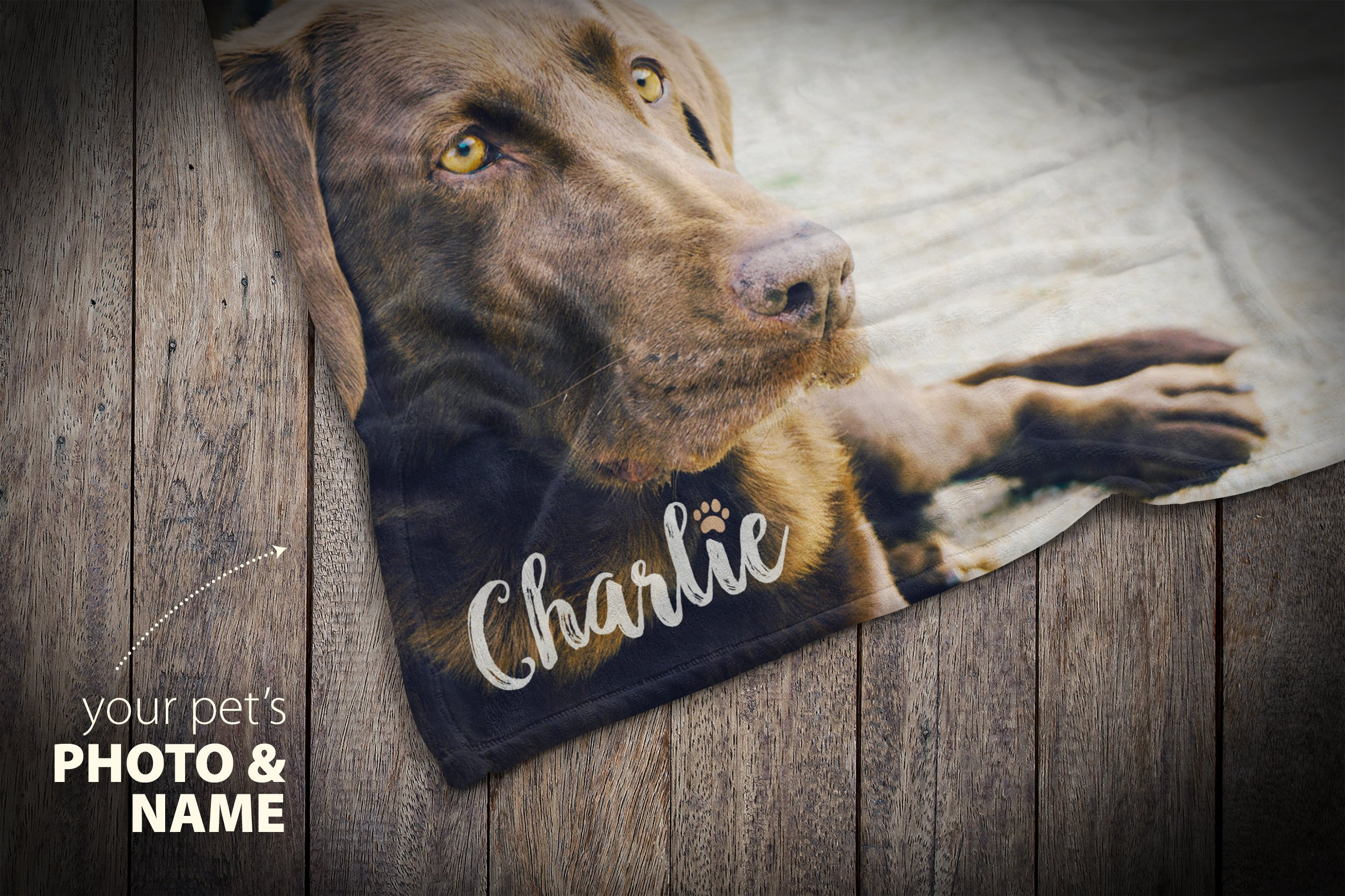 Personalized Dog Blanket Pet Loss Gifts Custom Photo Etsy