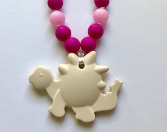 Chompy Dino Babywearing Accessory-Ivory