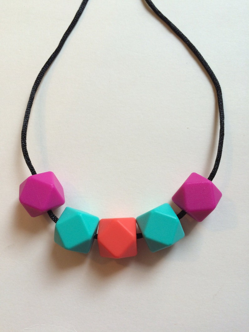 Chic Simple Hexagon Necklace-HPTC image 0