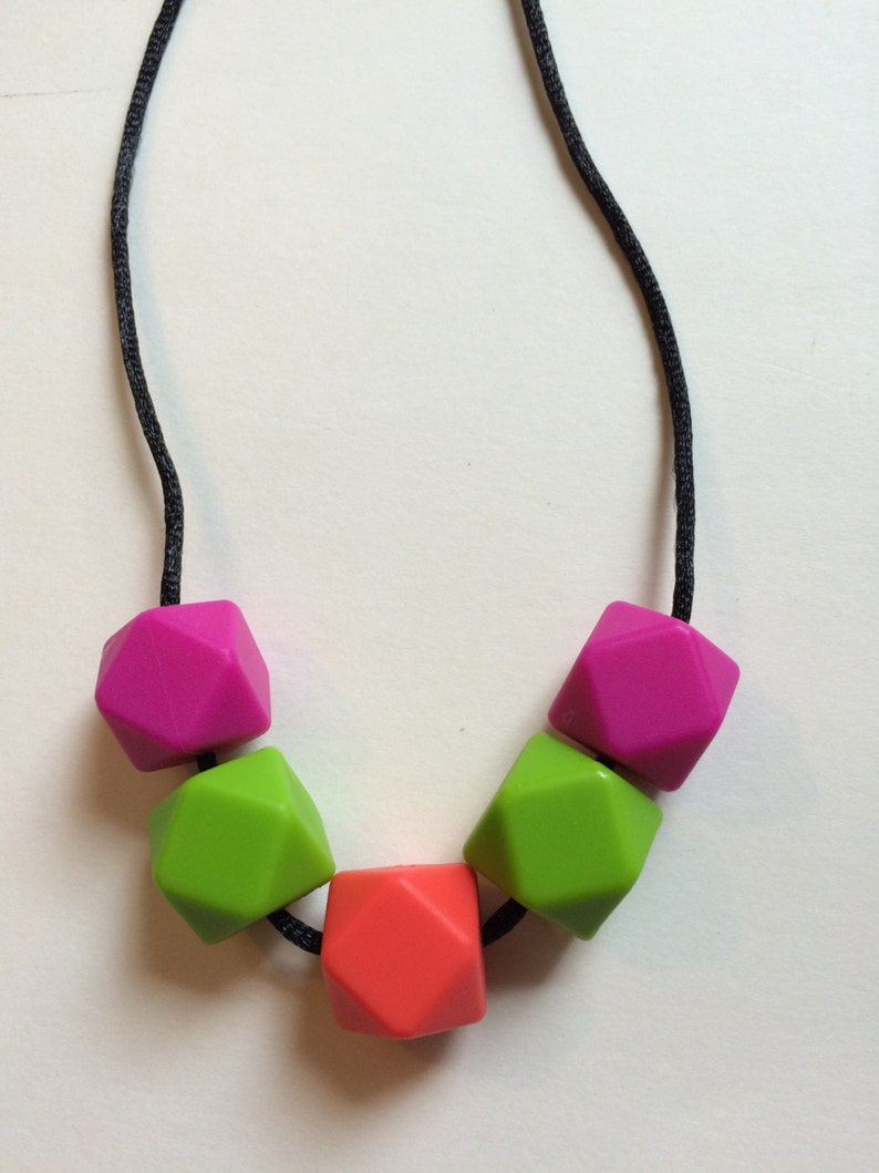 Chic Simple Hexagon Necklace-HPGC image 0
