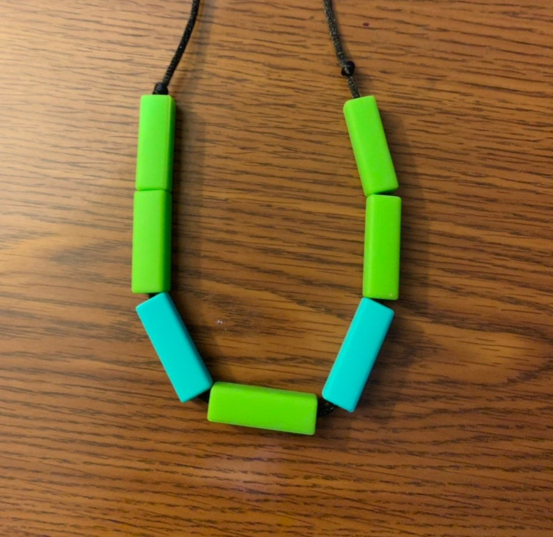 Rectangular Necklace custom image 0
