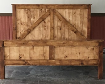 rustic platform beds with storage storage underneath rustic king size farmhouse bed w platform bed etsy
