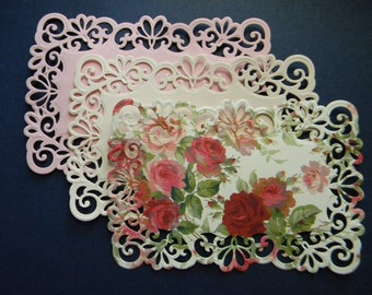 Die Cut and Embossed Lace Layers (366)