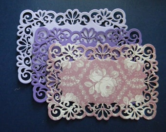 Die Cut and Embossed Lace Layers (365)