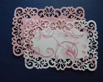 Die Cut and Embossed Lace Layers (363)