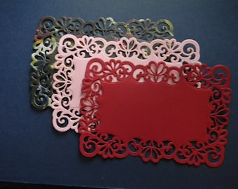 Die Cut and Embossed Lace Layers (364)