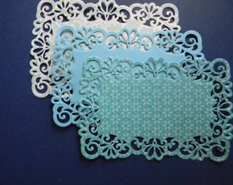 Die Cut and Embossed Lace Layers (362)