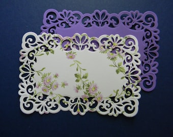 Die Cut Lace Layers  (361)