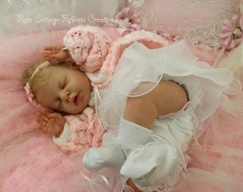 "Reborn doll custom NOAH by Reva Schick 20""~ Full Legs ~ AC Tummy Plate"