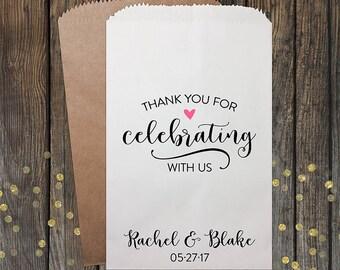 Wedding Candy Bags, Wedding Favors, Candy Bags, Candy Bar Bags, Rustic Wedding, Popcorn Bags, Custom Wedding Favors, Candy Bags, Kraft #185