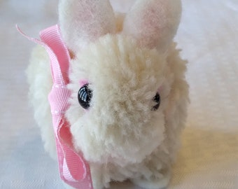 Easter Bunny Baby Gift Handmade Wool Animal Collectible