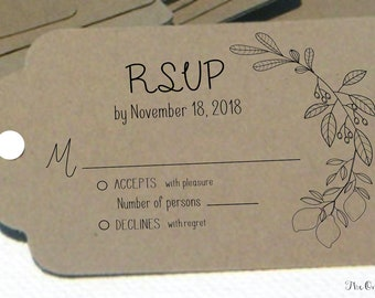 RSVP Address Stamp for Wedding Invitation Response Cards Large Self Inking Stamp or Wooden Stamp with Handle for Reply Cards and Envelopes