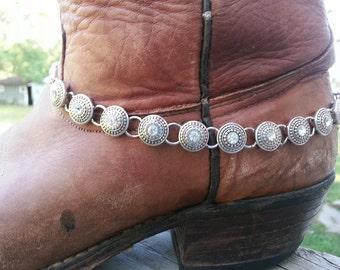 Metal Glitz Boot-let// Cowboy Boot Charm// Women's Boot Jewelry