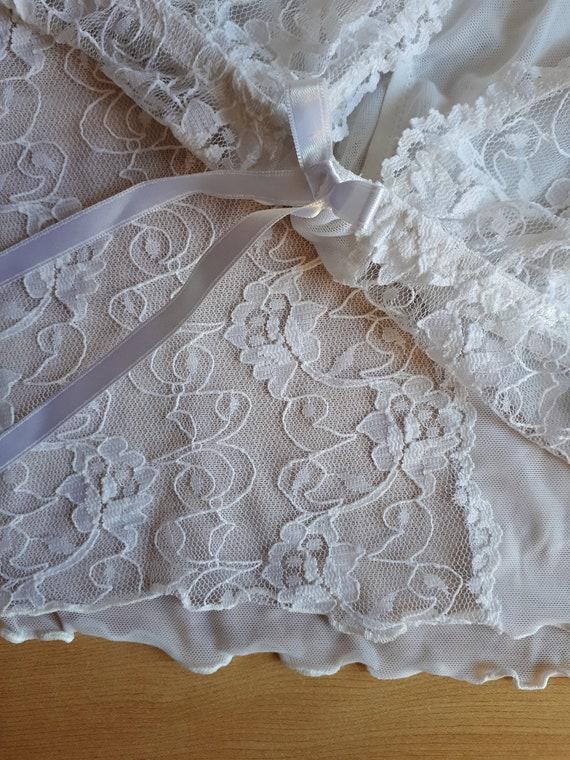Sheer Lace Camisole - image 9