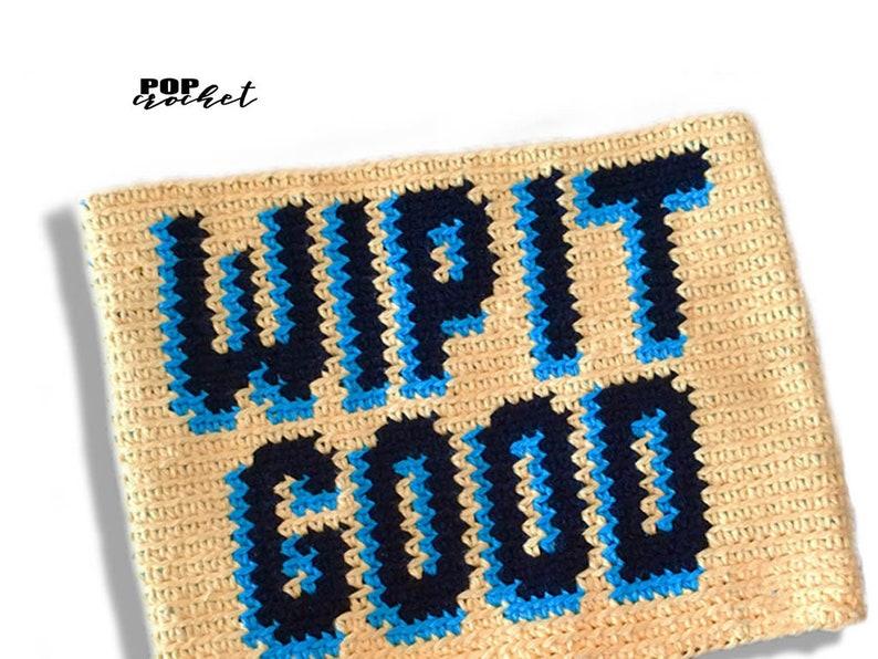 WIP IT GOOD Crochet Pattern tapestry crochet Crochet Purse image 0