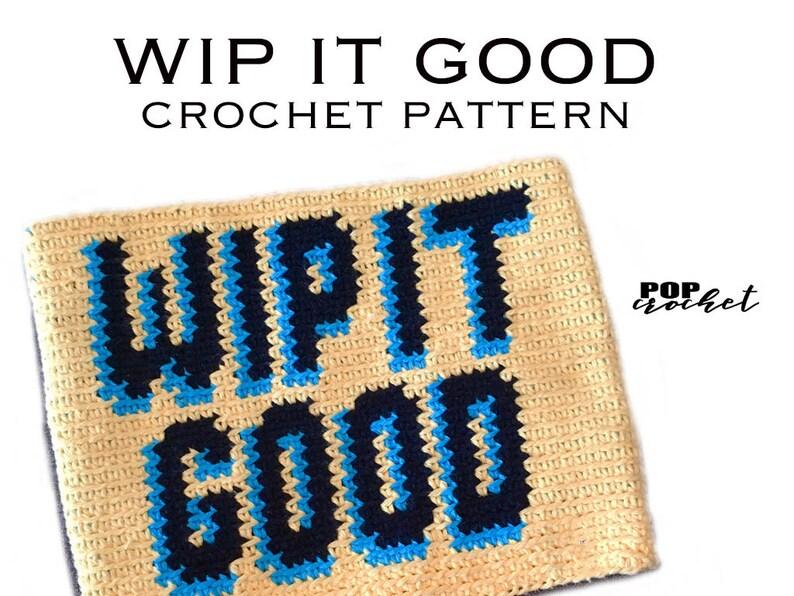 WIP IT GOOD Crochet Pattern Crochet Purse Crochet Pouch image 0