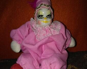 Bean bag clown doll   Etsy