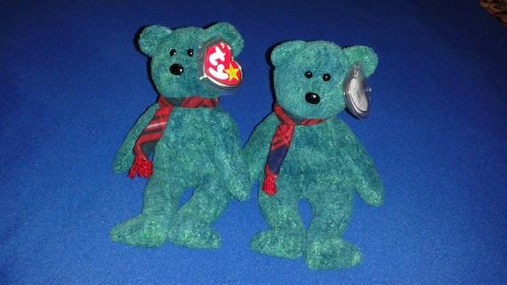 WALLACE BEAR Ty Original Beanie Baby Babies Scottish Bears  177d53c261b