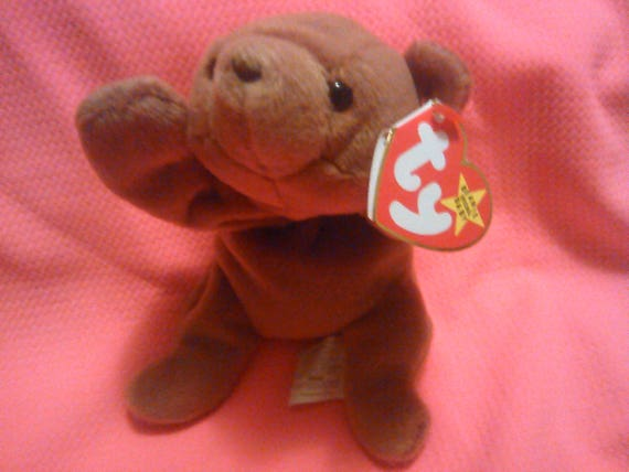 CUBBIE BEAR Ty Original Beanie Baby Babies plush toy plush  d9911716795e