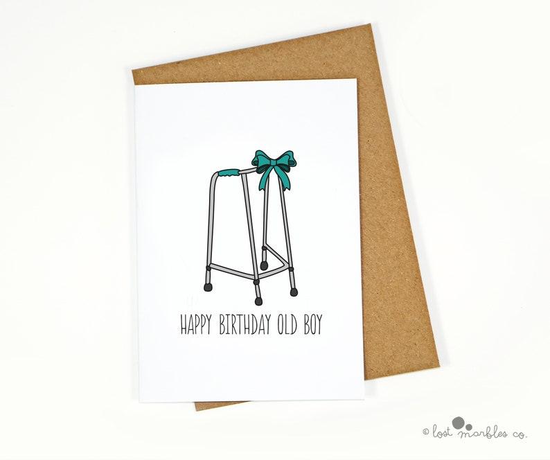 Joke Zimmer Frame Birthday Card For Him Her
