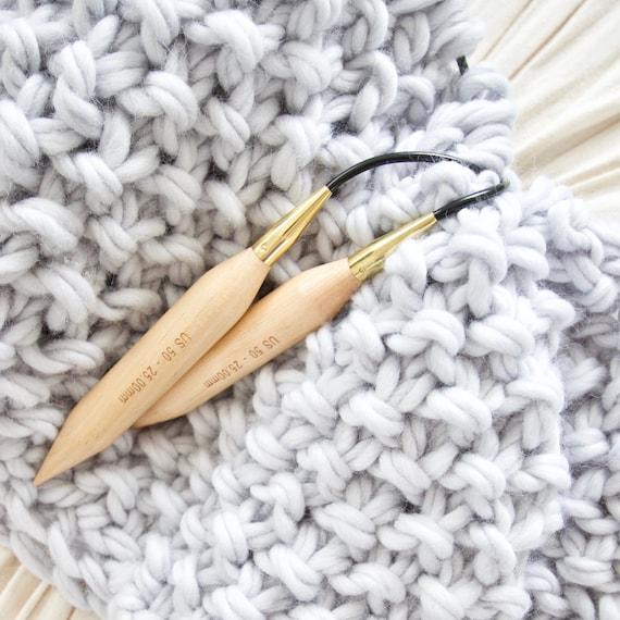 Size 50 Us 25 Mm Circular Knitting Needles Etsy