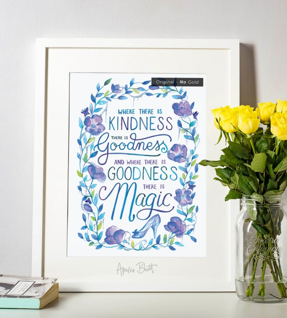 Where There Is Kindness There Is Goodness And Where There Is Etsy