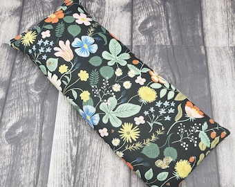 Reusable microwave heat pad. Rice/flaxseed heating pad. Heat pack reusable. Rice heating pad. Heat pad reusable. Organic lavender/unscented