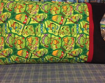 Teenage Mutant Ninja Turtles Pillowcase