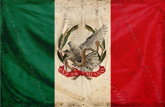 Paz para Mexico Paz para México Cartel de foto de la