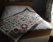 Handmade Single Patchwork Quilt