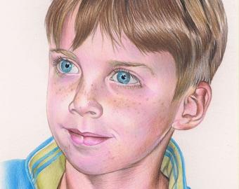 Custom drawn colour pencil portraits ***any subject of your choice**
