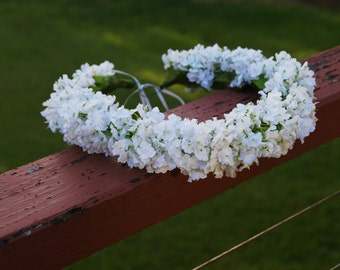 Wedding/Events Floral Babys Breath Crown