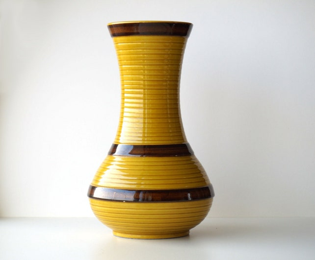 1960s Ceramic Vase Vintage Signed Sic Made In Italy Italian Etsy