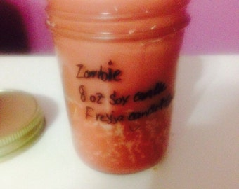 Zombie 8 oz Soy Candle