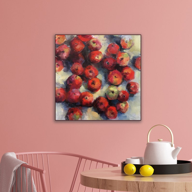 Contemporary Still Life with Apples image 1
