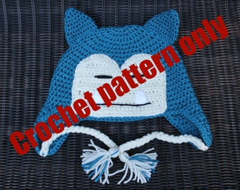 Pokemon Snorlax Crochet Pattern