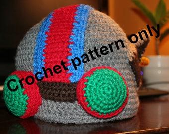 League of Legends Ziggs Hat crochet pattern