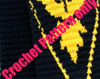 Pattern for a Team Instinct Inspired Scarf