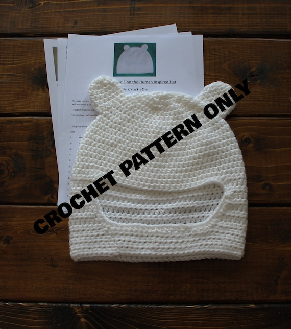 Adventure Time Finn inspired hat pattern  61a61e337be