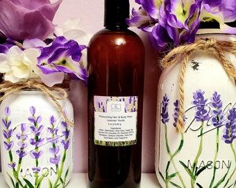 NEW!  16oz. Moisturizing Hair and Body Wash.  Lavender-Vanilla Scent!