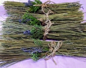 Lavender Fire Starters.  Lavender kindling.  Fall/Winter Fire starters for fireplaces, wood stoves, campfires, smokers. Fall Bonfires