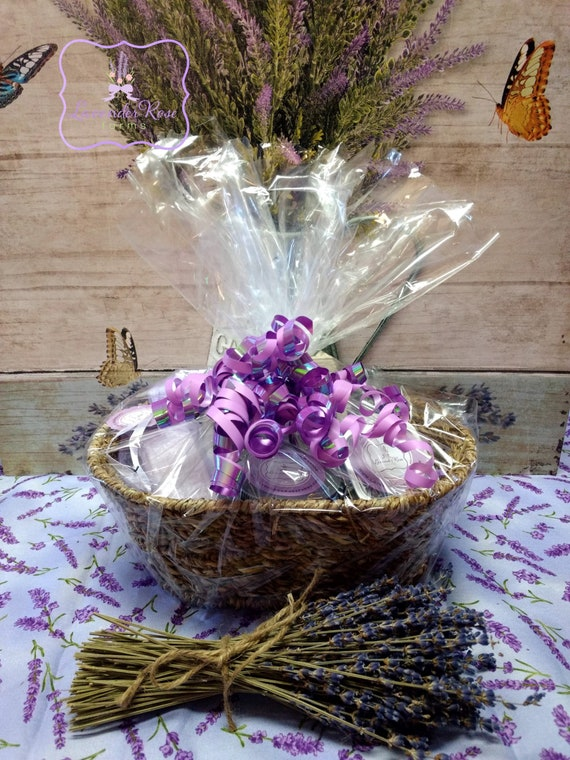 image 0 & Lavender Gift baskets. Stress Relief Basket. Aromatherapy | Etsy