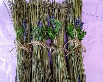 Lavender Fire Starters.  Lavender kindling.  Fall or Winter Fire starters for fireplaces, wood stoves, campfires, smokers