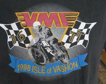 Tulsa Trailriders Size Medium 1984. 80/'s Dirt Bike Shirt Motocross