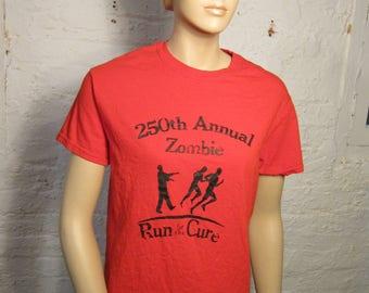 278e58e5 Size Women's M (37) ** Zombie Shirt (Single Sided)