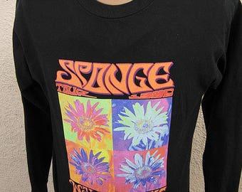 Size L- (43) ** 1995 Sponge Concert Shirt (Double Sided)
