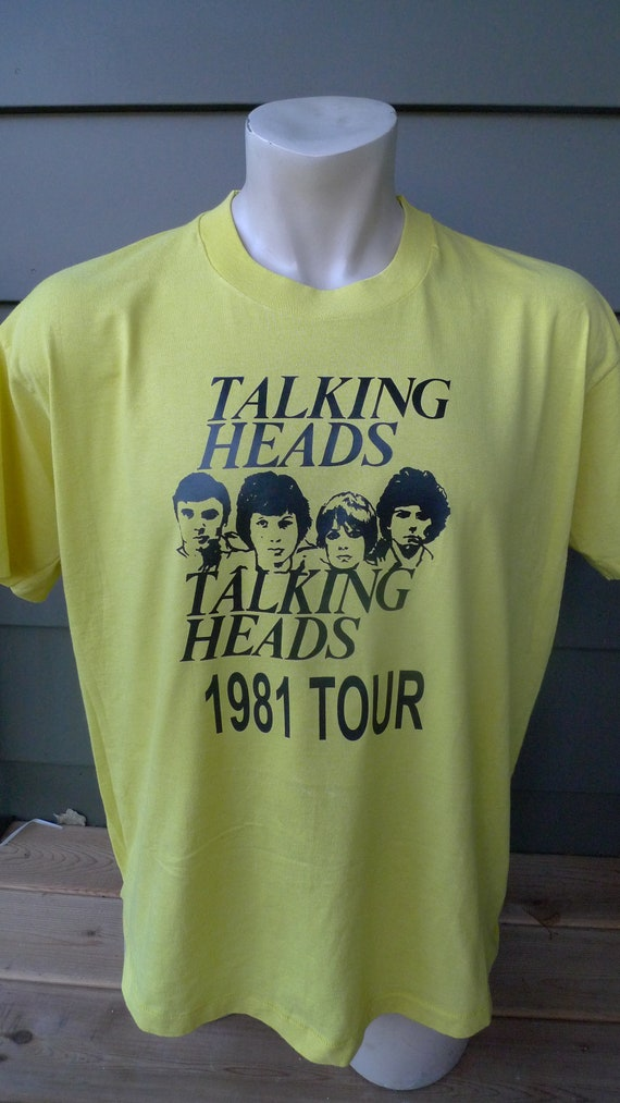 Size XL (48) ** Dated 1981 Talking Heads Shirt  (S
