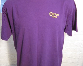 Size XL (48) ** True Vintage 1990s Cuervo Tequila Shirt (Single Sided)