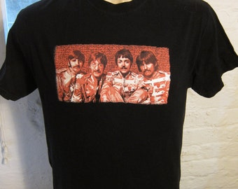 Size M (44) ** The Beatles Shirt (Double Sided)
