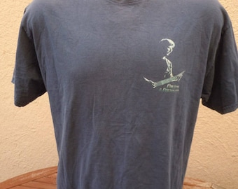 Size XL (48) ** 1990s Phil Leash Concert Shirt (Double Sided)